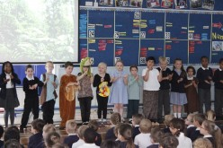 Photos of Year 2's Rainforest Assembly