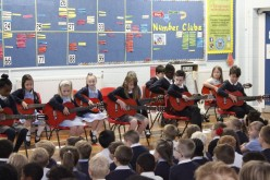 Video and photos of Year 4 Guitar Assembly