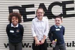 Our children visit the Quaker Peace Hub