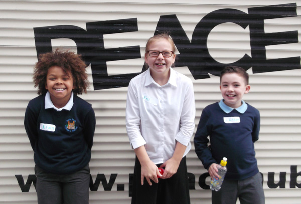 The children will now be working together as a team in school to promote Peacemakers