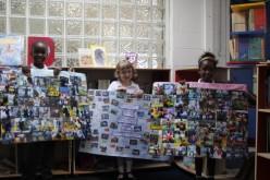 Book bench hunting children rewarded