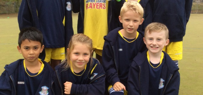 Year 3/4 take part in football tournament