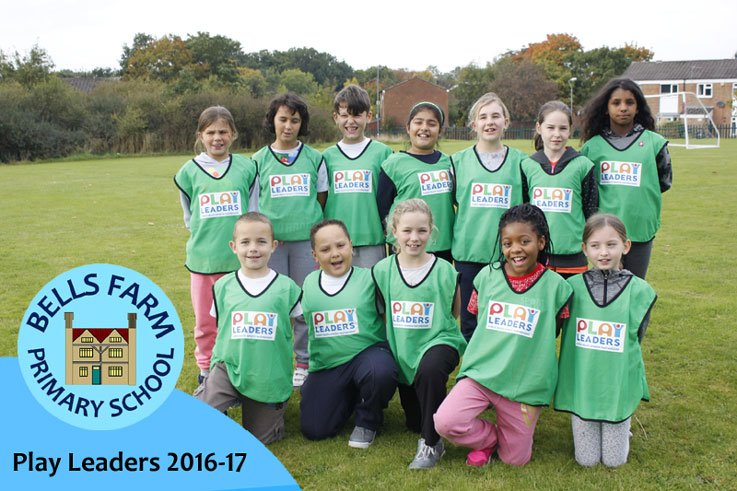 Our Play Leaders are trained to engage other children to take part in physical activities