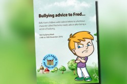 Bullying advice book to fictitious Fred