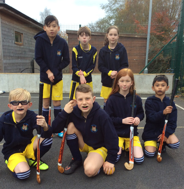 Our hockey team finish in third place