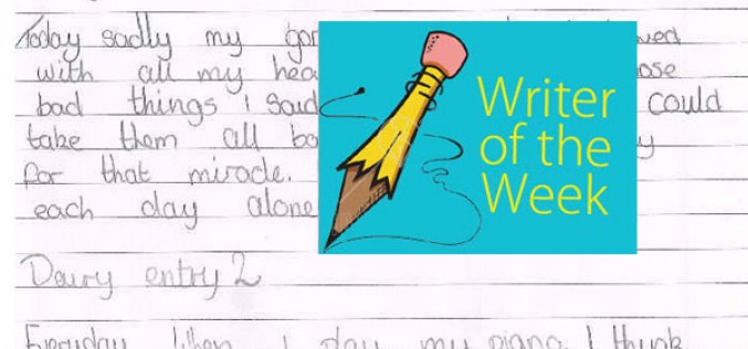 Brianna, Charlie and Willow – 'Writer of the Week'