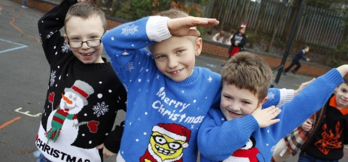 Christmas Jumper Day Photos
