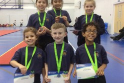 Year 4 gymnastics team finish 2nd