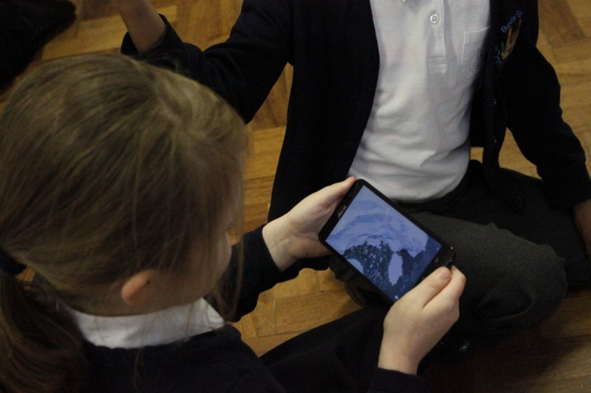 Google Expeditions virtual learning