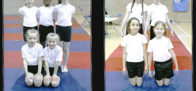Bronze medal for KS1 gymnastics team