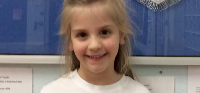 Amelia awarded 4th in gymnastics tournament