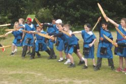 Photos of Year 4's Lunt Roman Fort trip