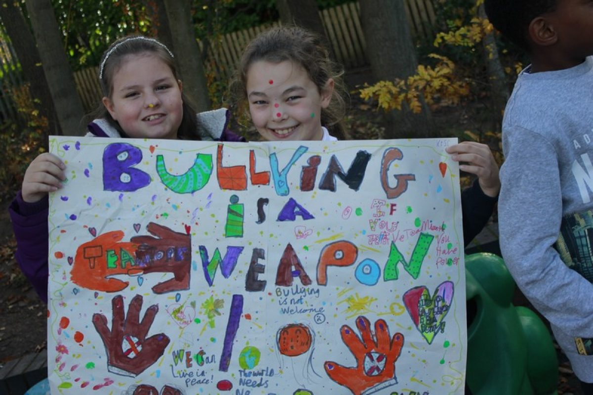 Anti-Bullying Week Protest