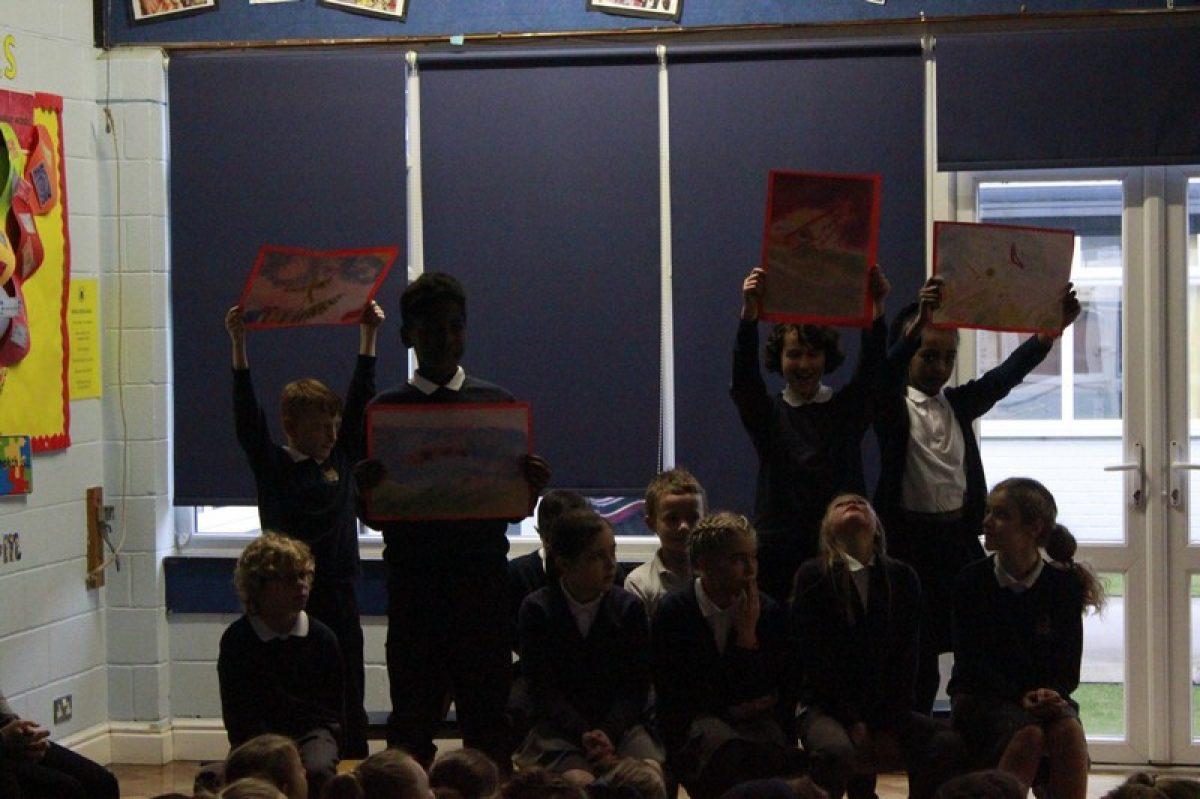 Year 6 World War assembly