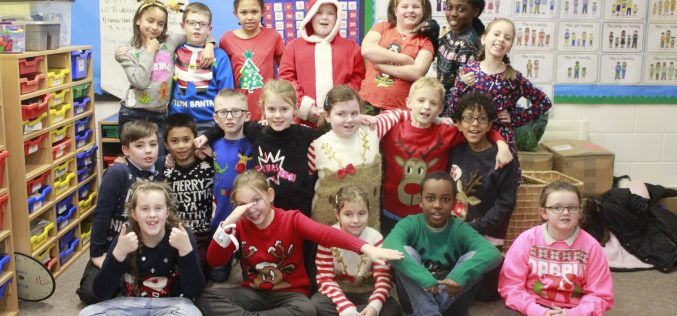 Photos of Christmas Jumper Day & Lunch