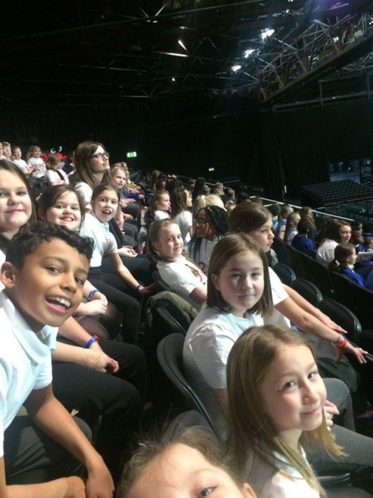 Choir perform at Young Voices 2018