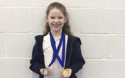 Gold for Megan in gymnastics tournament