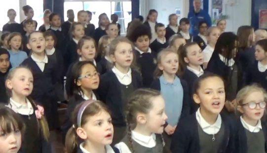 Video: Safer internet song performance