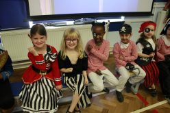 Photos of Year 1 Pirates assembly