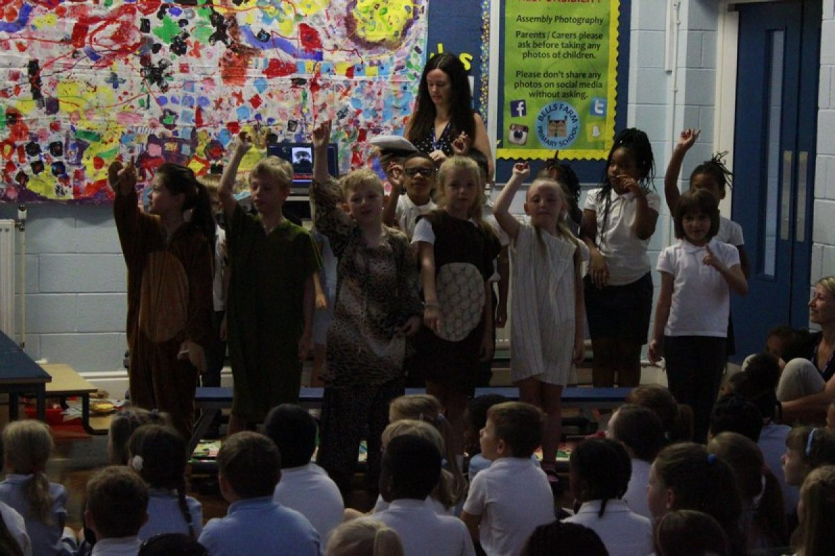 Year 2 Toucans 'Rainforest' assembly