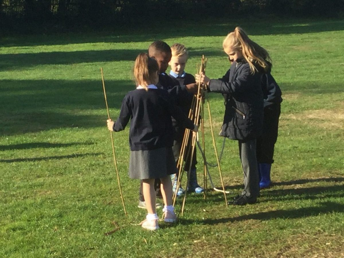 Year 3's trip to the Stone Age – Sarehole Mill