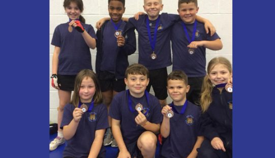 Bronze medals for table tennis team
