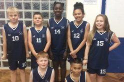 Basketball team finish joint top