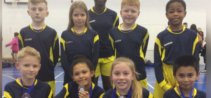Bronze for Y5 / Y6 dodgeball team