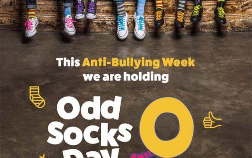 Odds Sock Day for Anti-Bullying Week