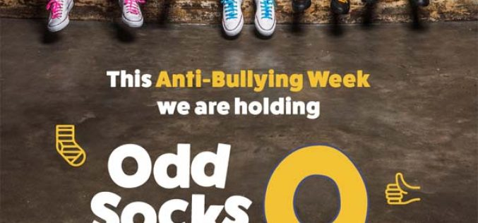 Odds Sock Day for Anti-Bullying Week