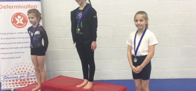 Bells Farm win gymnastics silver medal