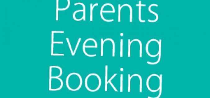 Parents Evening Online Booking