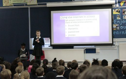 Video: Safer Internet Week assembly and song