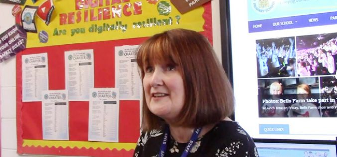 Video: Bells Farm online safety strategy