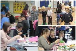 Photos of the Foundation Easter Workshop