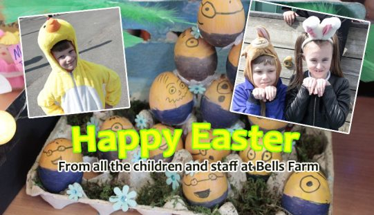 Happy Easter from all the children and staff!