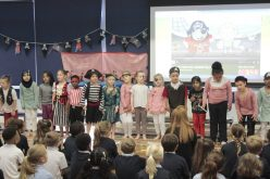 Photos and video of Year 1 Pirates assembly