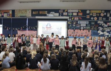 Year 1 Pirates Class Assembly
