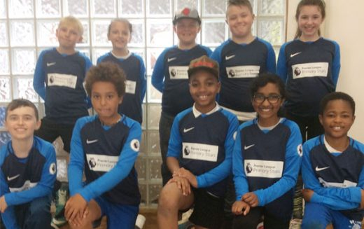 Year 5 take part in cricket festival