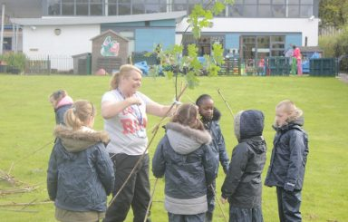Year 3's Stone Age experience day!