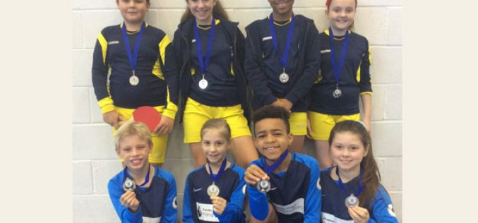 Bells Farm awarded silver medals in table tennis