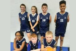 Basketball team finish in 1st place