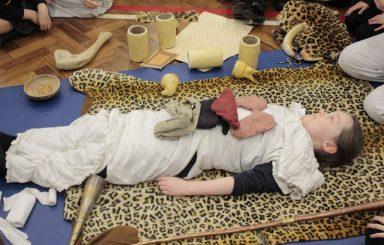 Year 3 Ancient Egypt 'History Man' visit