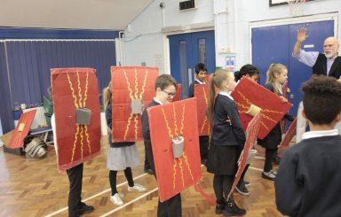 Year 4 Romans workshop