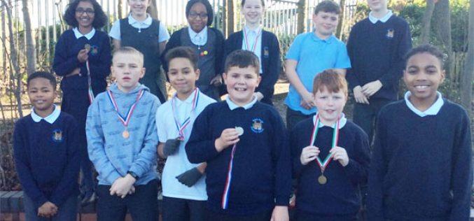 3rd place for Y5 & Y6 athletics team