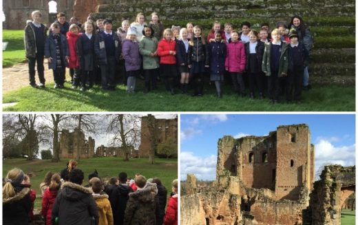 Photos of Year 5's Kenilworth Castle trip